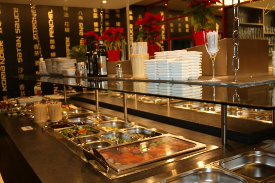 Asia Kitchen XXL Buffet Detail - Asiatische Spezialitäten in Salzburg